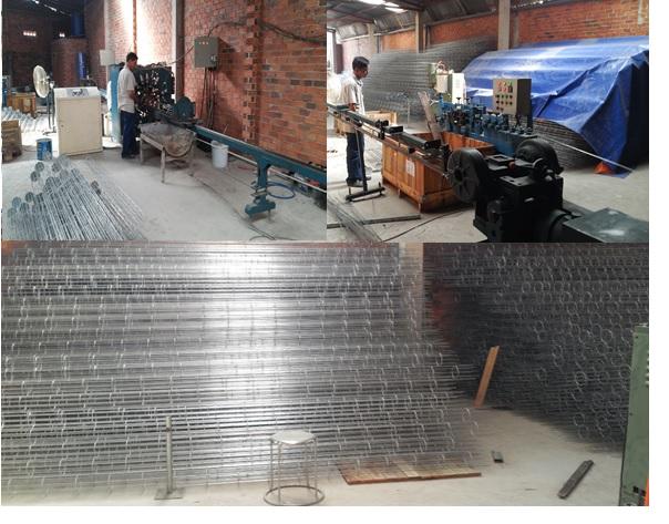 Xưởng sản xuất khung