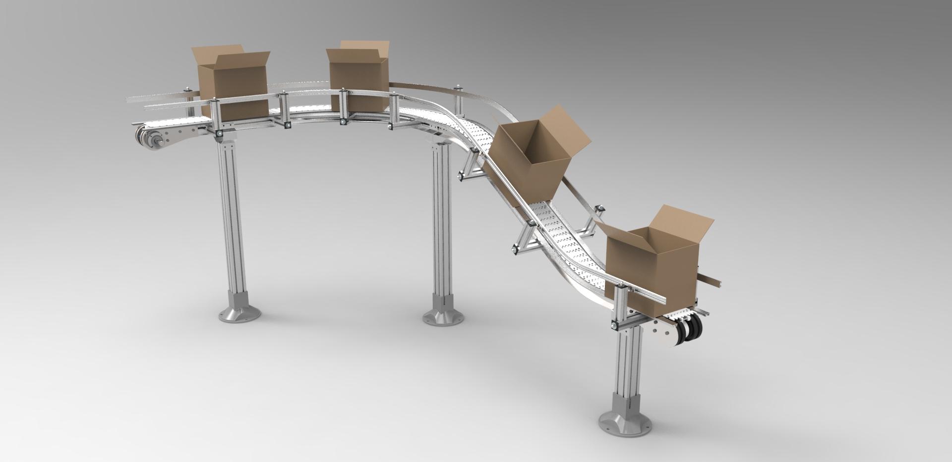 Hệ thống băng tải ngành thực phẩm