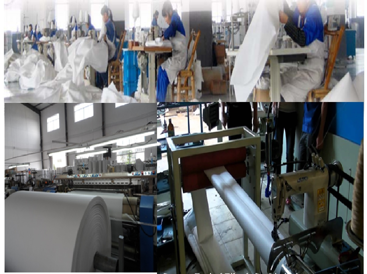 Sản xuất túi lọc bụi
